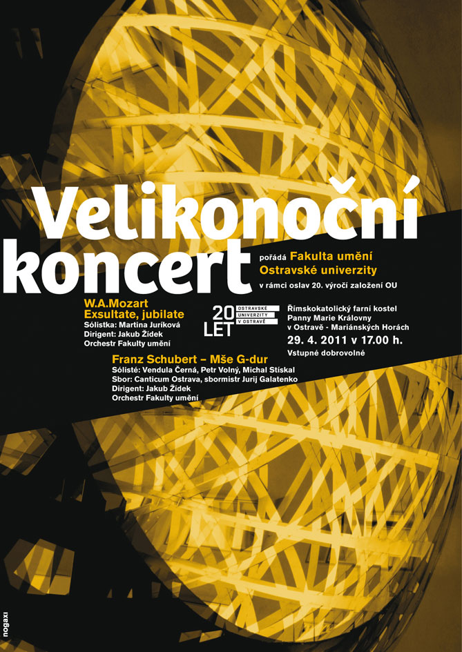 Poster for Concert of Symfonic Music | 2011